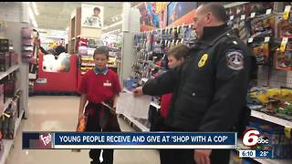 Dozens of local kids 'Shop with a Cop' in Marion County - Video