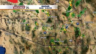 Chief Meteorologist Erin Christiansen's KGUN 9 Forecast Monday, July 24, 2017 - Video