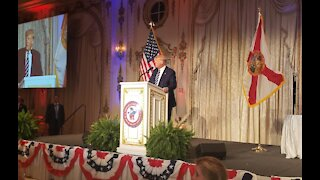 President Trump LIVE and Uncensored at Mar-a-Lago Says It's Not Over!