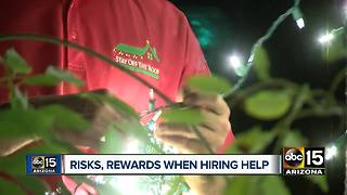 Valley company offering to hire Christmas lights for customers - Video