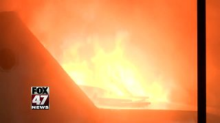 Funeral home fire under investigation - Video