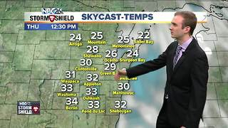 Gino Recchia NBC26 Storm Shield Weather Forecast - Video