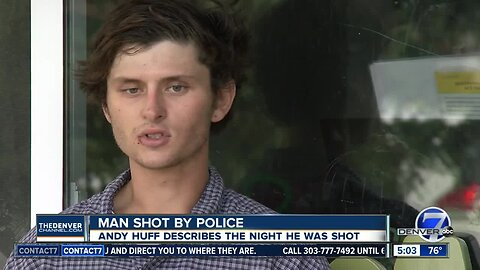Man shot by Aurora police speaks out