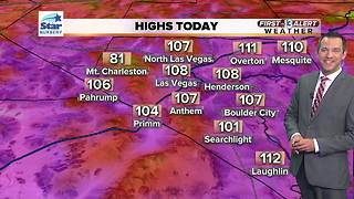 13 First Alert Las Vegas weather August 2 morning - Video