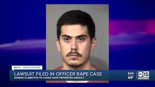 Lawsuit filed in officer rape case