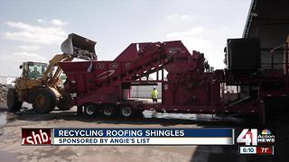 Angie's List: recycling roofing shingles - Video
