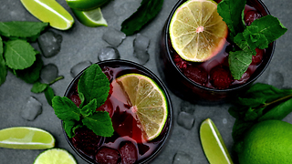 New Years Eve Gin Bowl Recipe - Video