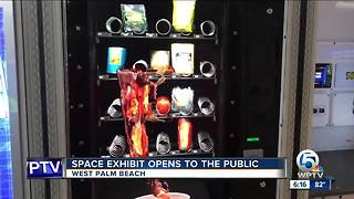 Space exhibit opens in West Palm Beach - Video
