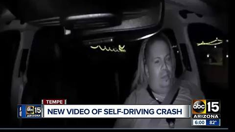 Tempe police release dash cam video of deadly Uber crash