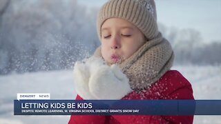 Despite being remote, this school district closed for a snow day