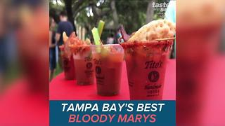 Spicy! Check out the best bloody marys in Tampa Bay - Video