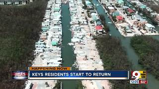 Florida Keys residents start to return - Video