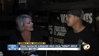 Vegas Massacre survivors hold local therapy group - Video