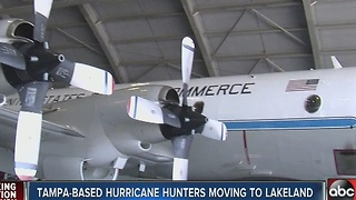 Tampa-based hurricane hunters moving to Lakeland - Video