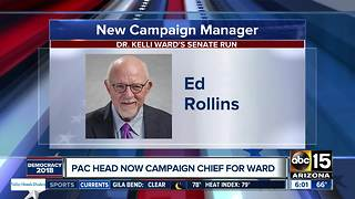 PAC head now campaign chief for Ward in Arizona Senate race - Video