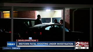 Tulsa Police investigate 72nd homicide - Video
