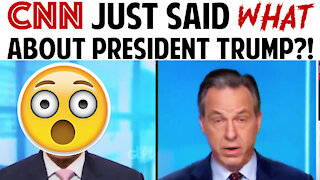 CNN JUST SAID WHAT ABOUT PRESIDENT TRUMP?!