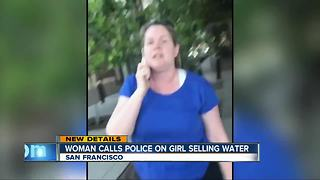 Video of woman who called police on girl selling water goes viral