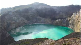 The unbelievable colored lakes of Indonesia