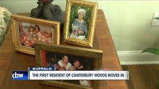 First resident of Canterbury Woods moves in - Video