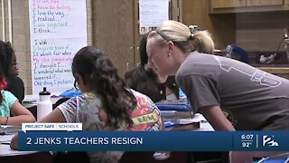 2 Jenks Public Schools teachers resign