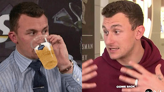 Johnny Manziel Discusses His Bipolar Diagnosis & Alcohol Abuse in First Interview in 2 Years - Video