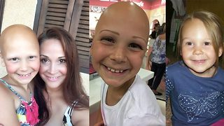 Brave schoolgirl cruelly called 'baldy' encourages others to proudly embrace alopecia induced hairlessness  - Video