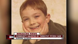 Community haunted by Timmothy Pitzen case