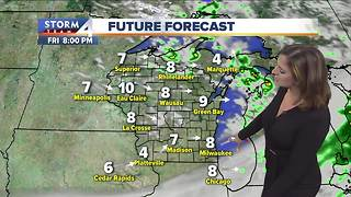 Potential frost overnight
