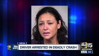 Driver reportedly used meth before deadly head-on crash in Mesa