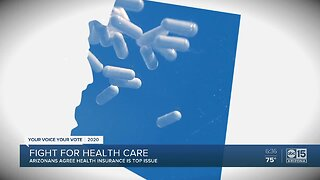 Arizonans agree that health insurance is a top issue this election