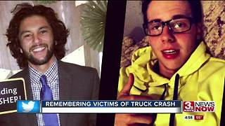 Remembering victims of concrete truck crash - Video