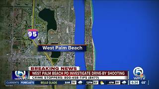 Drive-by shooting in West Palm Beach injures man - Video