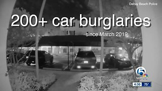 Police: 200 vehicle burglaries in Delray Beach since March