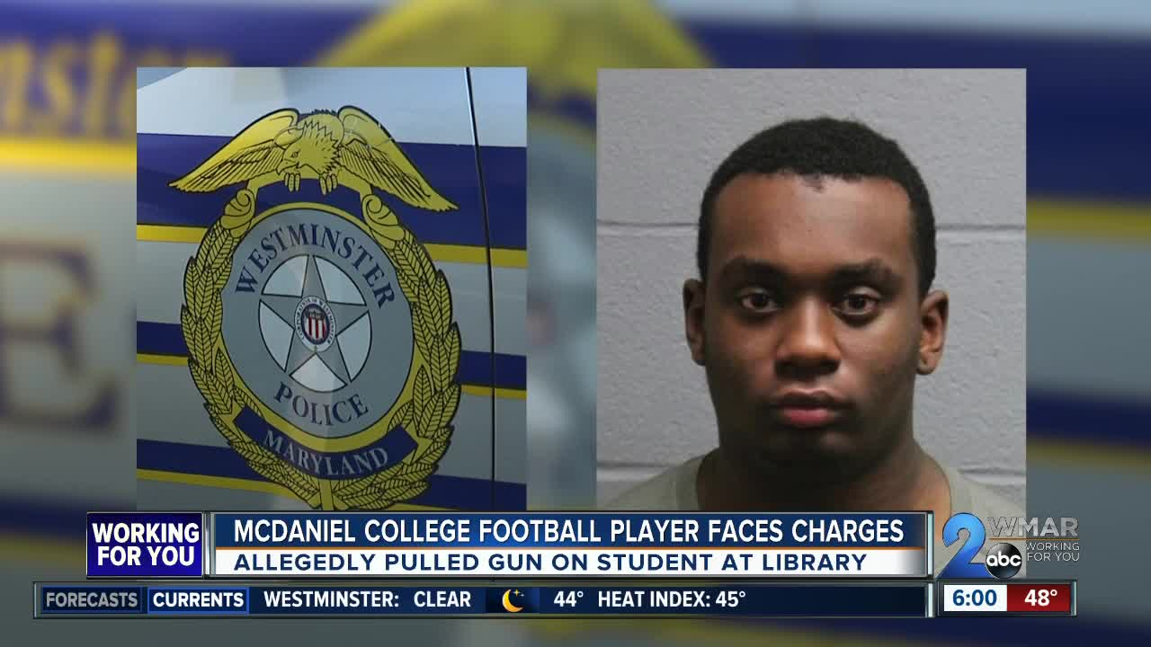 McDaniel College student charged with threatening another student with a gun