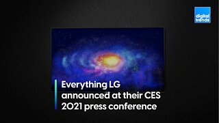 Everything LG announced at their CES 2021 press conference