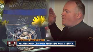 Community remembers Highlands County deputy killed in the line of duty - Video