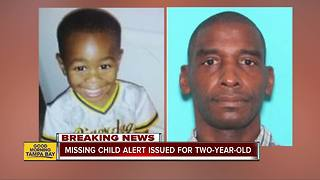 MISSING CHILD Alert issued for 2-year-old Jacksonville boy - Video