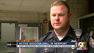 Newport Central Catholic hosts active shooter drill