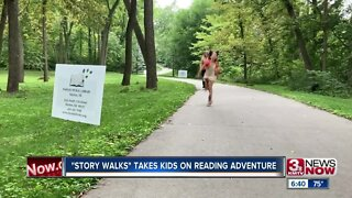 Story Walks takes kids on reading adventure