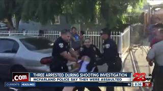 Three arrested during McFarland shooting investigation - Video