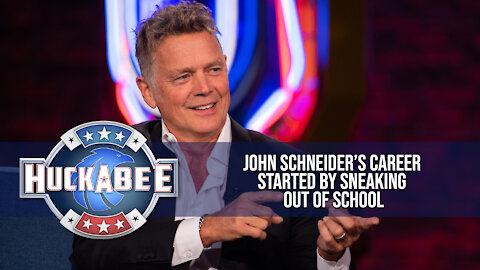"""John Schneider's Career Started By SNEAKING Out Of School 