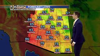 Light showers move into Valley Wednesday - Video