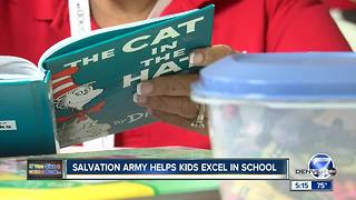 Salvation Army after school program focuses on helping kids improve their literacy skills