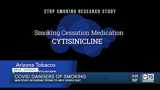 New study warning people on dangers of smoking with COVID-19