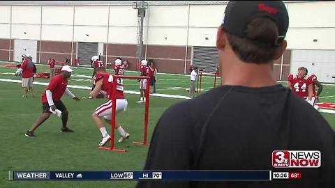 Huskers Tight End Competition