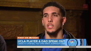 LiAngelo Gives Poor Excuse For Shoplifting In China - Video