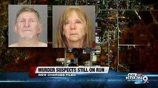 Murder suspects on the run: New charges against fugitive couple