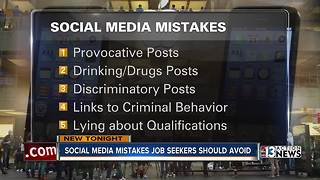 Social media mistakes job seekers should avoid