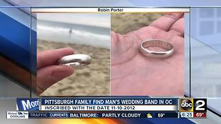Pittsburgh family on nationwide search for owner of ring found in Ocean City - Video
